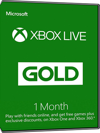 Xbox Live Gold - 1 month subscription Screenshot
