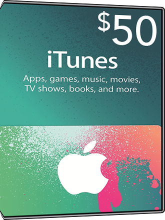 iTunes Gift Card $50 Screenshot