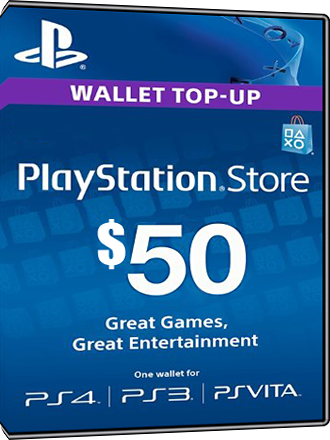Playstation Network Card PSN Key 50 Dollar [USA] Screenshot
