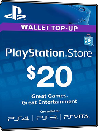 Playstation Network Card PSN Key 20 Dollar [USA] Screenshot