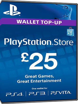 Playstation Network Card PSN Key 25 Pound [UK] Screenshot