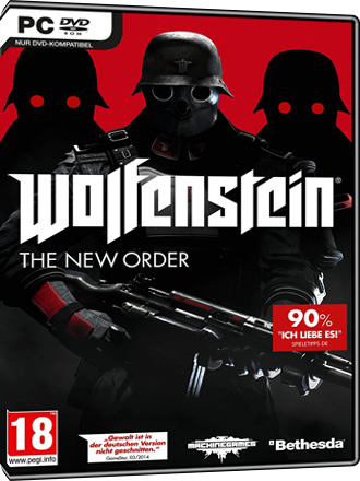 Wolfenstein The New Order - DE/AT Key Screenshot
