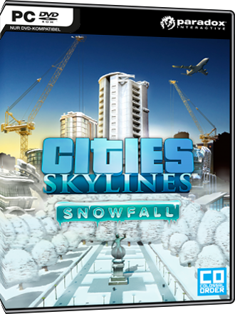 Cities Skylines - Snowfall (Addon) Screenshot