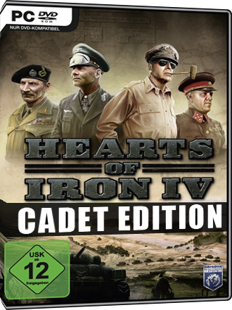 Hearts of Iron IV - Cadet Edition Screenshot