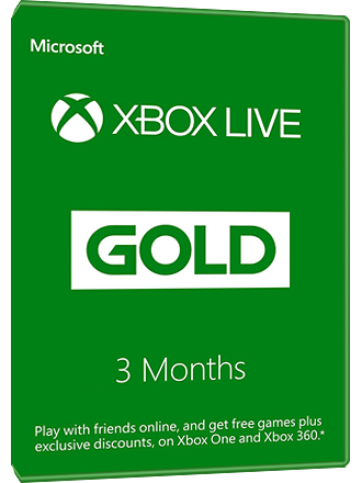 Xbox Live Gold - 3 month subscription Screenshot