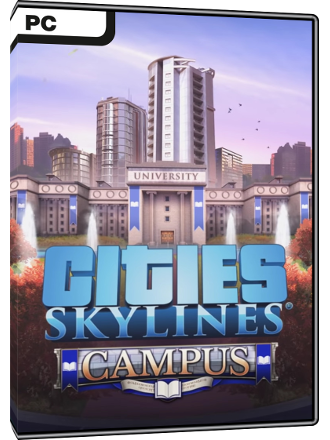 Cities Skylines - Campus (DLC) Screenshot