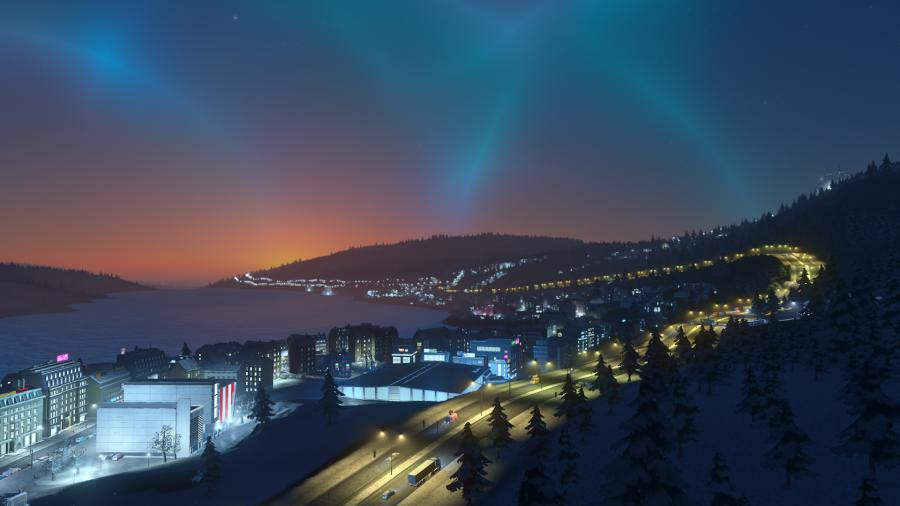 Cities Skylines - Snowfall (Addon) Screenshot 2