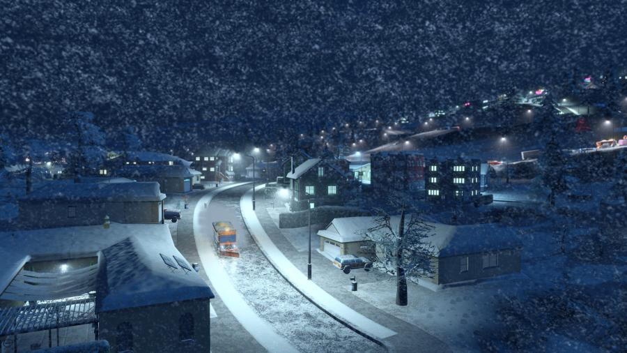 Cities Skylines - Snowfall (Addon) Screenshot 7