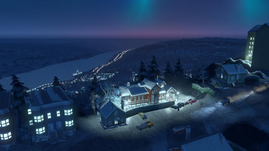 Cities Skylines - Snowfall (Addon) Screenshot 3