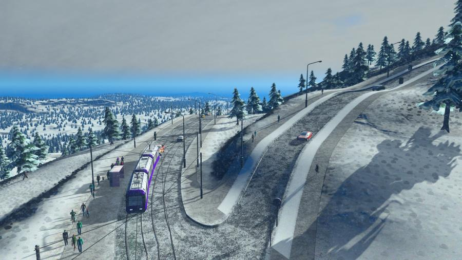 Cities Skylines - Snowfall (Addon) Screenshot 8