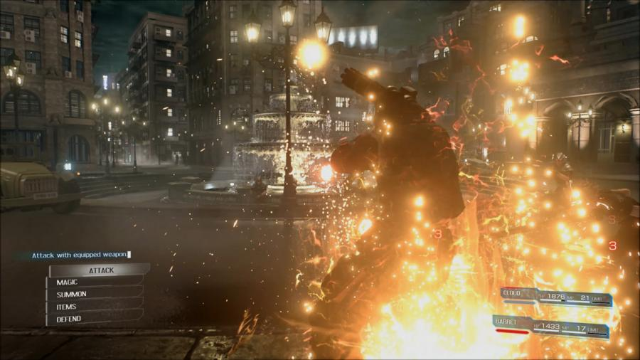 Final Fantasy VII Remake Screenshot 2