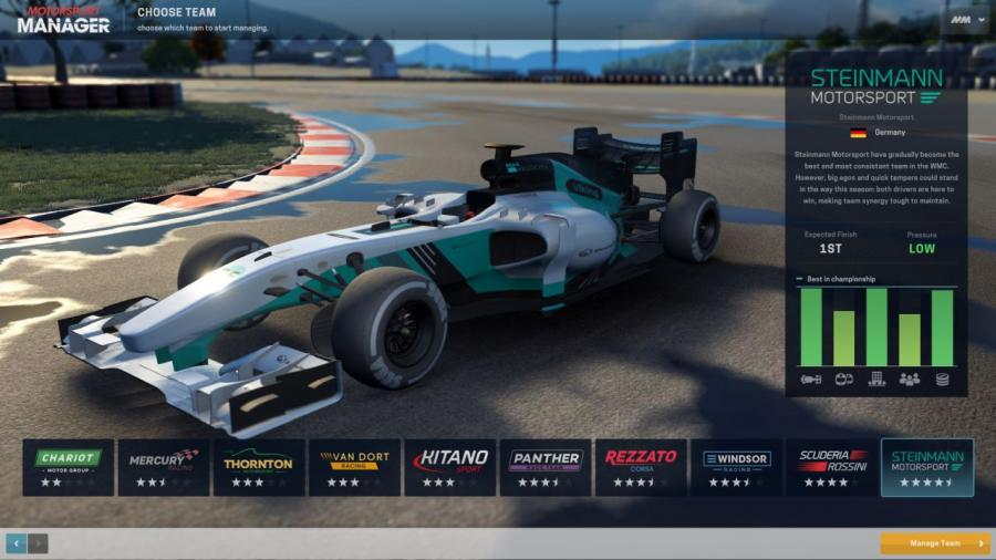 Motorsport Manager Screenshot 1