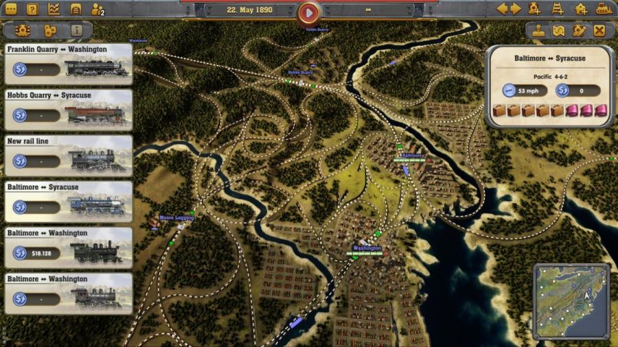 Railway Empire Screenshot 3