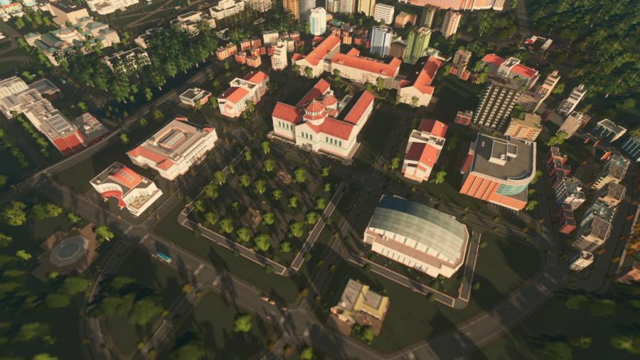 Cities Skylines - Campus (DLC) Screenshot 2