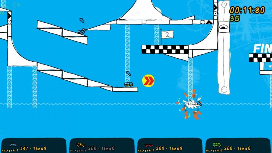 Fromto - Toy Cars in Hell Screenshot 3