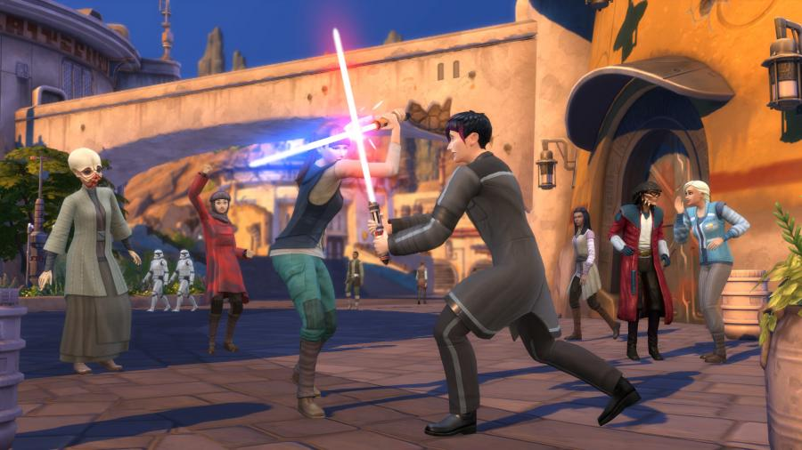 The Sims 4 + Journey to Batuu Bundle Screenshot 5