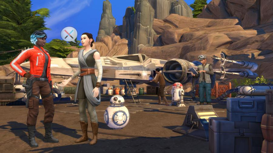 The Sims 4 + Journey to Batuu Bundle Screenshot 3